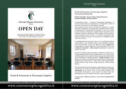 Locandina Open day Como 2016