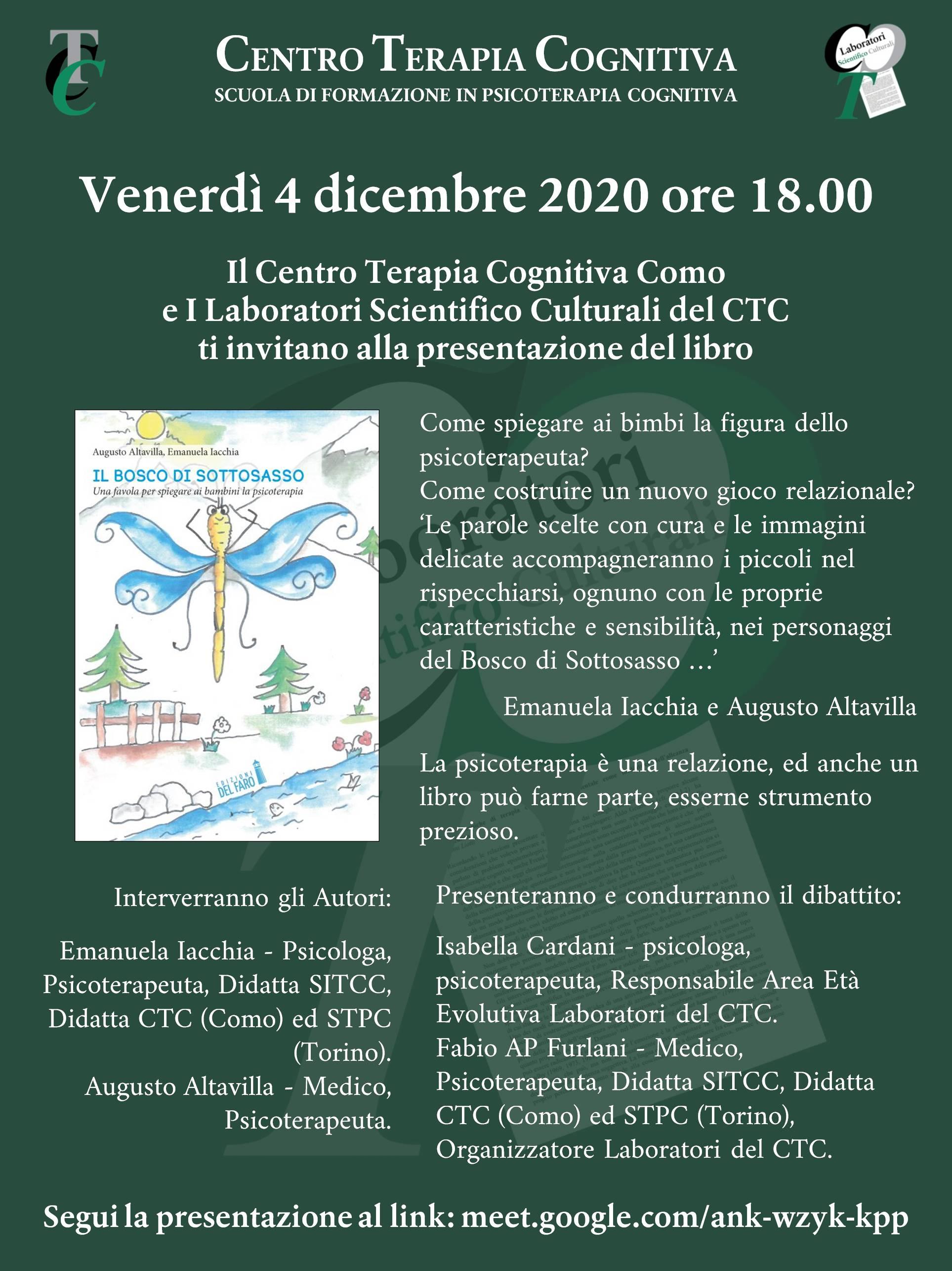 2020.12.4 Bosco di Sottosasso (Evento Lab) - Locandina Compatta