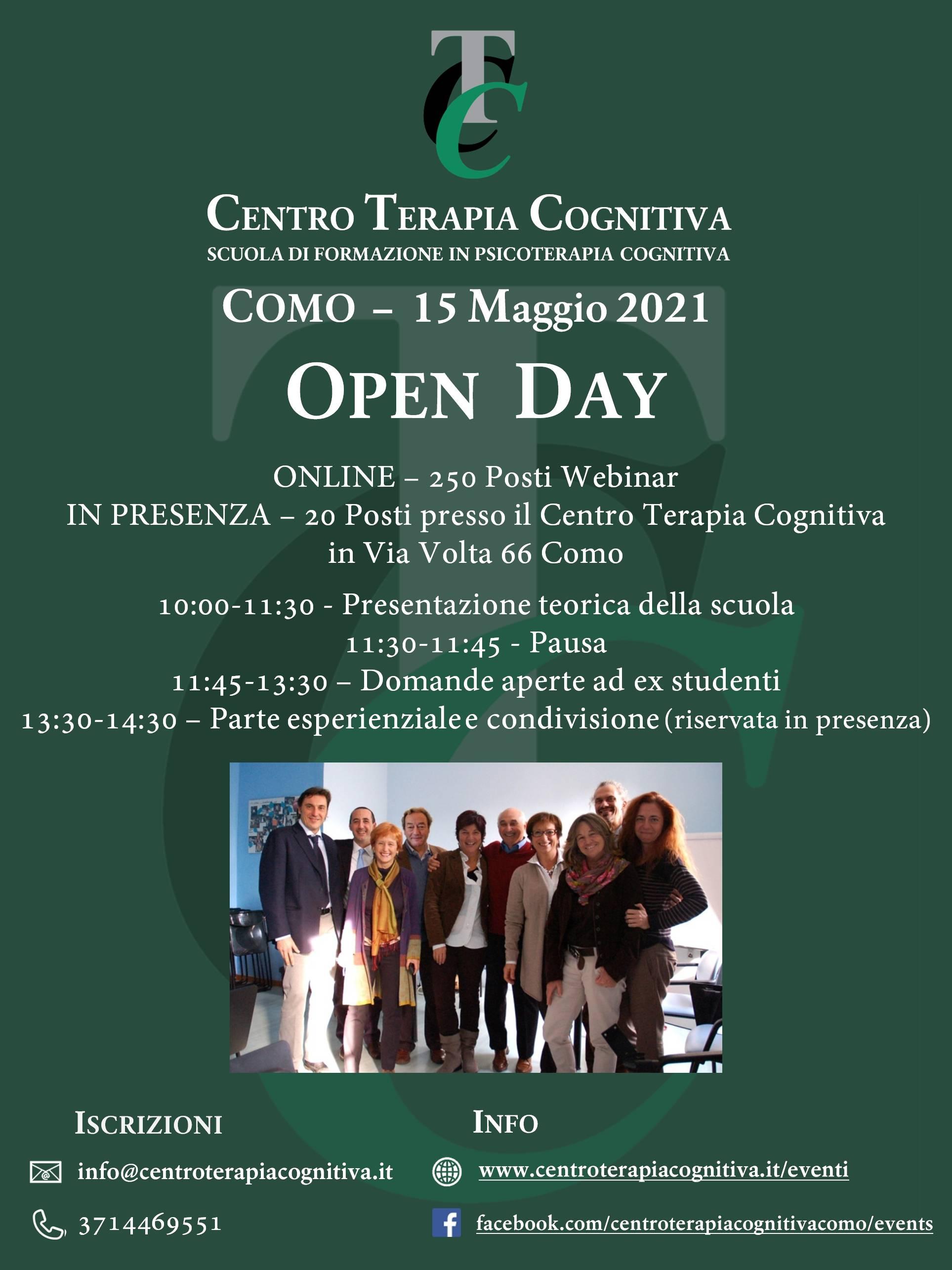 Open Day Misto Presenza/Online